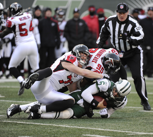 "<bold>""We're obviously out of the playoffs and that's unfortunate."" </bold> <italics>-- Dec. 2009, after loss to Falcons. The defeat dropped the Jets to 7-7 but they would go onto make the playoffs and advance to AFC Championship game</italics>"
