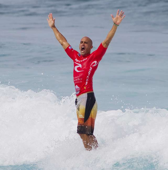 """You know how the ASP found out it had jumped the gun in crowning (Kelly) Slater? Slater told them. He'd seen a blog post questioning the ASP's math, did some figuring himself and got a little investigation underway. He didn't want to win the title early. The most dominant athlete of his time, any sport, wanted to do what he's always done: earn it. A competitor. A Sportsman.""    Click here to read more."