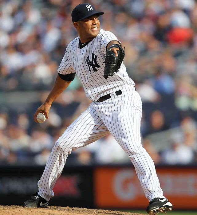"""Truth is, you could consider (Mariano) Rivera SI's Sportsman of the Year almost every year, such is his consistency of performance and character. But the occasion of becoming the all-time saves king is a new, good reason to pick him as my Sportsman. And when I thought about Rivera for this award, I thought about the words and faces of those Tigers coaches. No player in the sport commands more professional respect than Rivera. But that night reminded me that Rivera is still so clearly the very best at his specific sports discipline -- both all time and currently. About whom else can that be said in all of sports?""    Click here to read more."