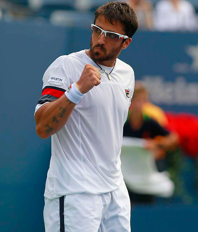 Tipsarevic had spent the better part of four years as a top-50 player, but he finally broke into the ATP's upper echelon in 2011. He saved the best for last this season, making his first Grand Slam quarterfinal at the U.S. Open, winning the Malaysian Open and the Kremlin Cup in October and making his first Tour Finals in November after Andy Murray pulled out.