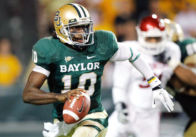 Robert Griffin threw for 479 yards and four touchdowns, including a 34-yard strike to Terrance Williams with 8 seconds left, adding more chaos to the BCS title race.