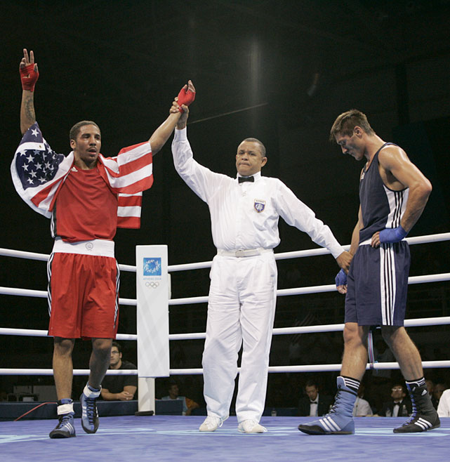 Ward followed up on his Olympic success by winning the WBA super middleweight championship in 2009.