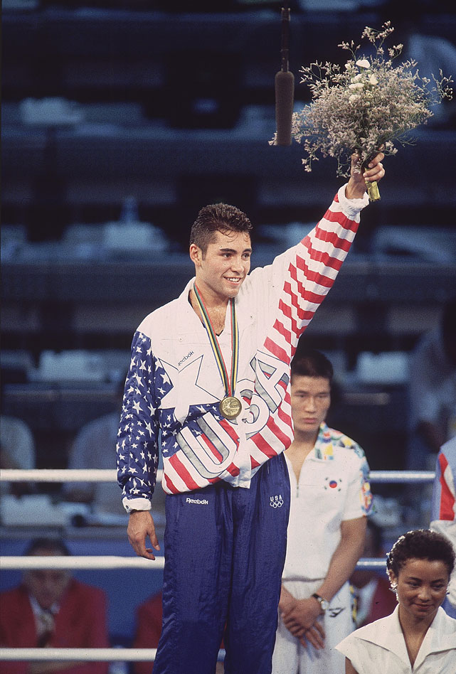 "After fulfilling his mother's dying wish by winning a gold medal, ""The Golden Boy"" captured titles in six different weight classes."