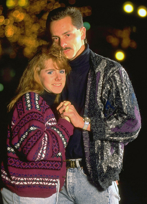 SI.com previously celebrated the Wives and Girlfriends (WAGs) of athletes in the  1970s  and  1980s .Now we look at memorable couples from the 1990s, including Jeff Gillooly and figure skater Tonya Harding. Gillooly, who is no longer married to Harding, and body guard Shawn Eckhardt hired Shane Stant to break Nancy Kerrigan's right leg in 1994.