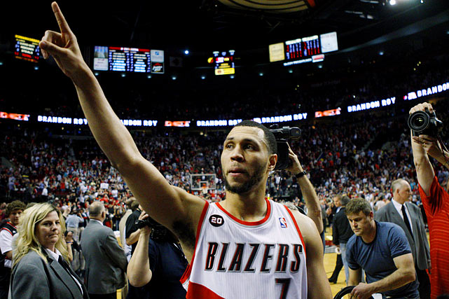 This game will always be remembered as the capstone in the career of Brandon Roy, who retired in December because of knee injuries. Roy had struggled on and off all season with  those injuries, but he suddenly rediscovered his old form to lead Portland to one of the biggest comebacks in playoff history, a rally from a 23-point deficit with 1:15 left in the third quarter. The smooth guard scored 18 of his 24 points in the fourth quarter, including a game-tying four-point play with 1:36 to play and a go-ahead shot with 39 seconds to go.
