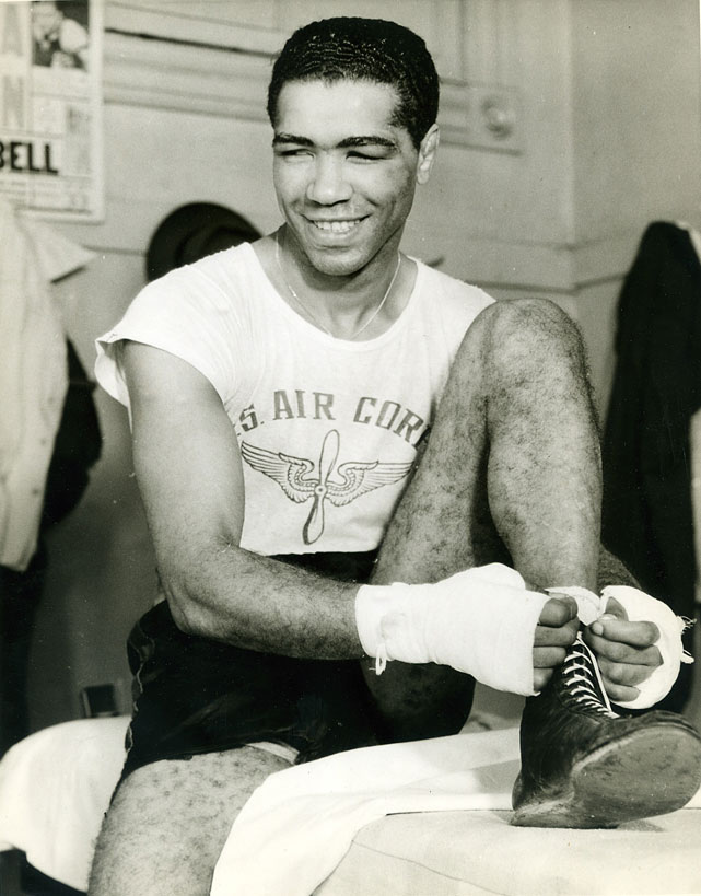 Longtime boxing journalist Michael Katz was also voted in. In addition to the six living inductees, the Hall of Fame also released the names of six posthumous honorees: Cocoa Kid (pictured) in the Modern Category; Newsboy Brown, Leo Houck and Jake Kilrain in the Old-Timer Category; promoters Hugh D. McIntosh and Rip Valenti in the Non Participant Category; and James Wharton (Young Molineaux) in the Pioneer Category. Inductees were voted in by members of the Boxing Writers Association and a panel of international boxing historians.