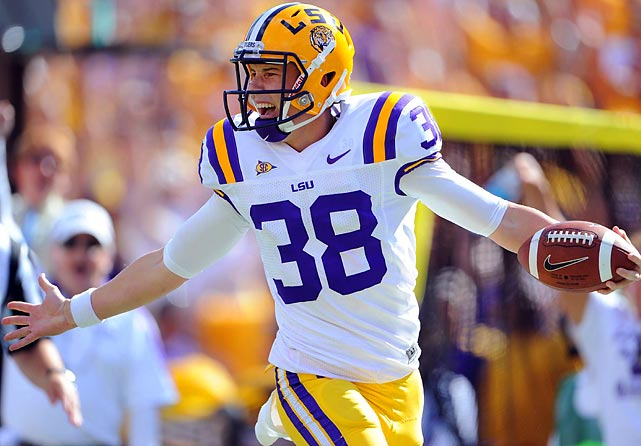 "Heisman voters who prescribe to the ""best player on the best team"" creed should have voted for Wing. The freshman from Australia was arguably LSU's most valuable player, helping the Tigers win the field-position battle in every game. His pinpoint placement limited LSU's opponents to just six return yards all season, while his fiery disposition -- seen most infamously on his trick-play touchdown against Florida that was overturned for taunting -- earned him a level of national recognition rarely attained by specials teams players."