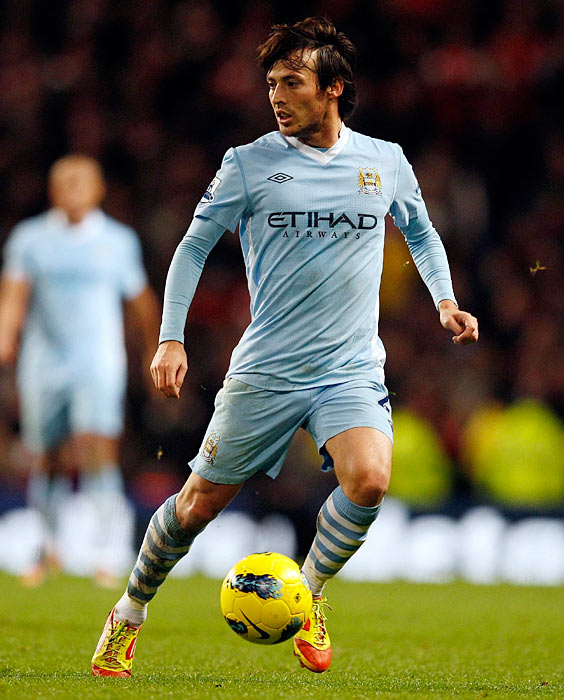 Underrated in his own homeland (he's not a regular starter for Spain), the dimunitive playmaker has flourished in England, where he drifts between the lines while leading Manchester City's charge for the title. Through Dec. 26, the 25-year-old Silva led the Premier League with eight assists to go with five goals in 18 games.