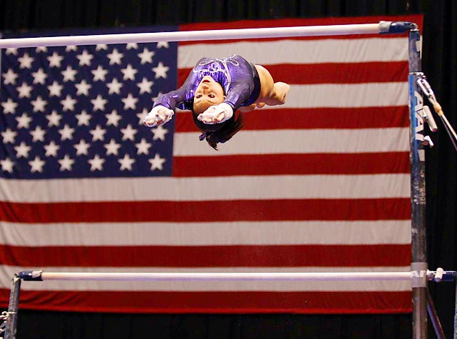 In her first year as a senior competitor, Wieber ascended to the top of the world and cemented her status as the U.S. gymnast to watch at the 2012 Olympics. She defeated 2010 world champion Aliya Mustafina of Russia at the American Cup in March and then ran away with the U.S. all-around title in August. Wieber, 16, capped a dominant 2011 by winning three medals at the world championships in October, including team and all-around gold, and turning professional.