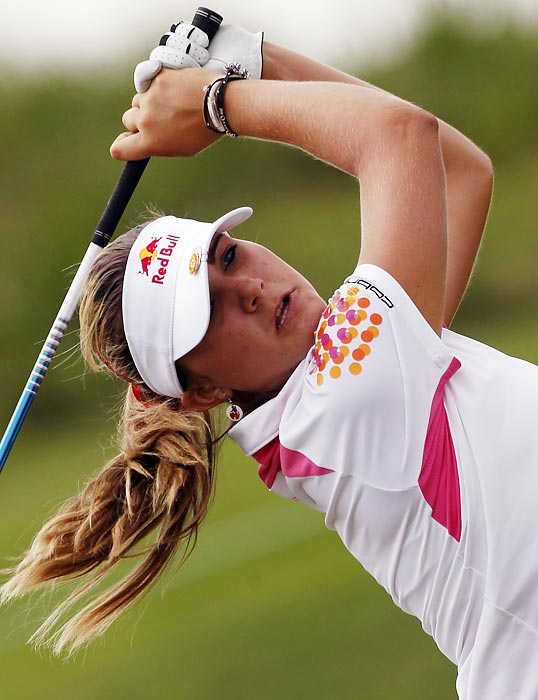 The 16-year-old became the youngest winner in LPGA Tour history when she rolled to a five-shot victory at the Navistar LPGA Classic in September. Two weeks later, the LPGA granted Thompson's petition to join the Tour despite being two years short of the required age minimum. The Florida teen thus can play on the Tour full time in 2012. (She also won a title on the European Tour in December.)
