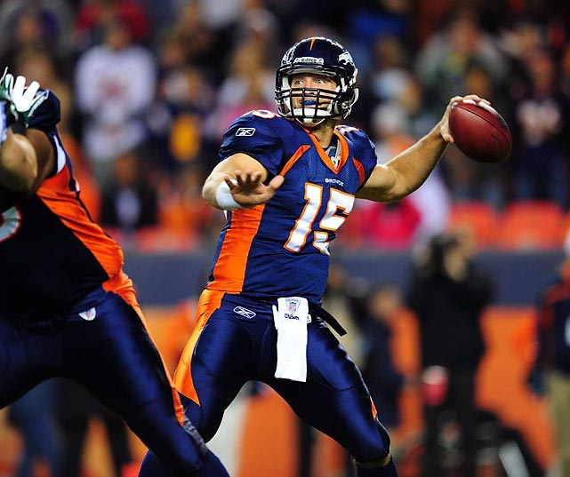 No, the passing statistics don't look fantastic. And no, the Broncos' offense doesn't always look pretty. But the second-year quarterback took over a 1-4 team and helped lift it into playoff position with seven wins in eight games, orchestrating five fourth-quarter comebacks in that time.