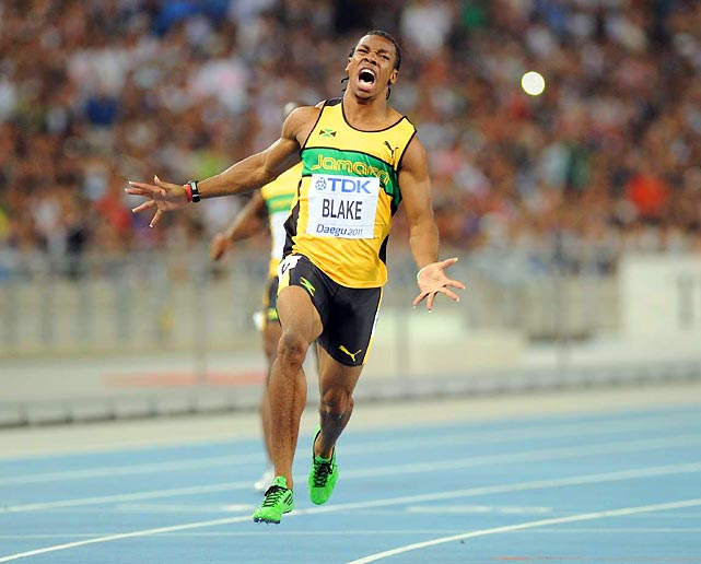 Usain Bolt's biggest competition at the 2012 Olympics is likely to come from a fellow Jamaican. Blake, 21, was the man who won the 100 meters at this summer's world championships after Bolt infamously false-started out of the race. Two weeks later, Blake ran the second-fastest 200 meters of all time, 19.26 seconds, second only to the great Bolt.