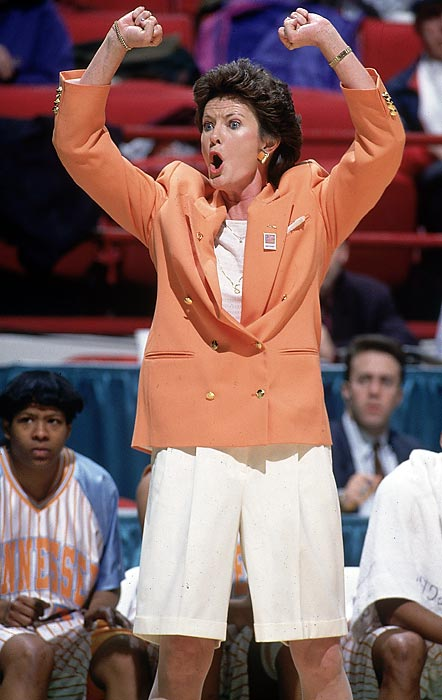 Pat Summitt's Lady Vols ran the table in the SEC for the third straight season in 1995 and rolled through the NCAA tournament -- until falling 70-64 to UConn in the championship game.