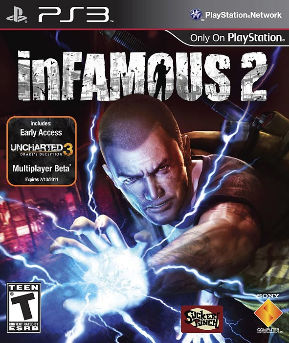 The action in InFamous 2 is electric and addictive as you level up your super powers in this sandbox adventure.