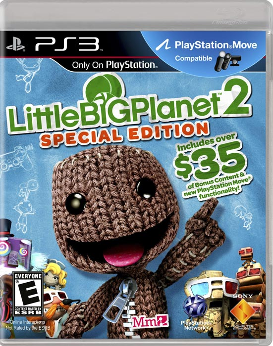 Little Big Planet 2 unveils a new universe of native and user created levels to navigate Sackboy through.