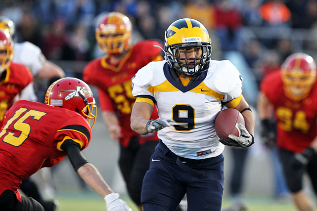 After capturing 10 Washington Class 3A titles in the past 12 season, Bellevue has long established itself as a perennial contender. This year was no different. Behind their run-centric Wing-T offense -- and the dazzling play of senior quarterback and cornerback Tyler Hasty -- the Wolverines outscored opponents 538-167.