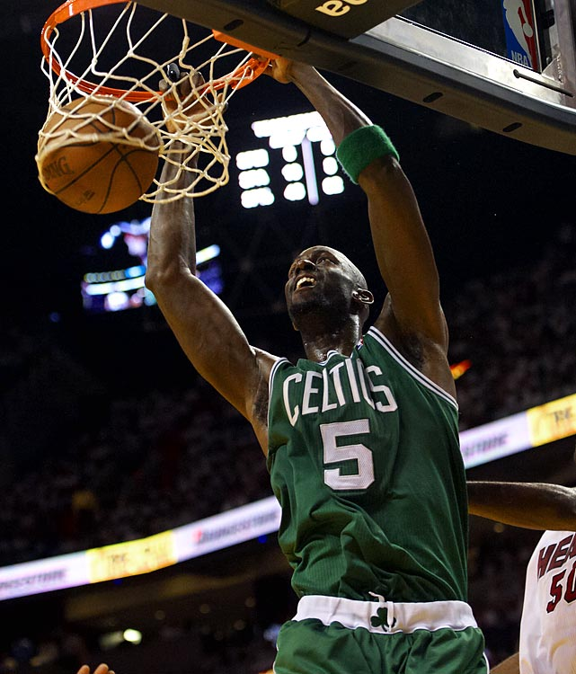 After the Big Three's potentially final shot at a title together, Garnett could enter the open market -- assuming Boston doesn't try to keep its aging big man.