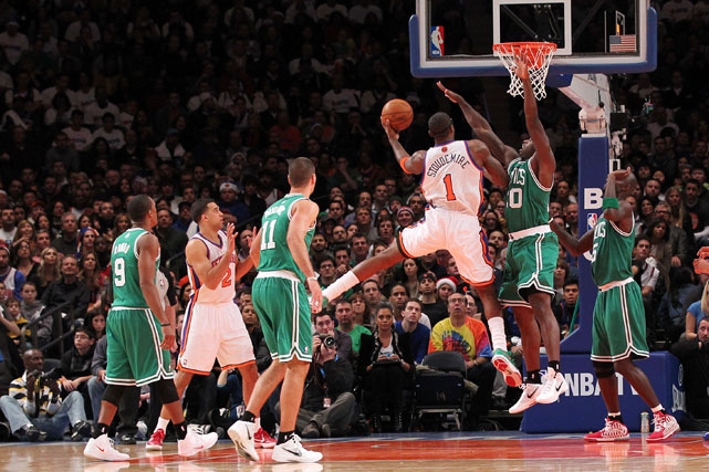 Amar'e Stoudemire had 21 points on 8-of-11 shooting from the floor, plus six rebounds in the win.