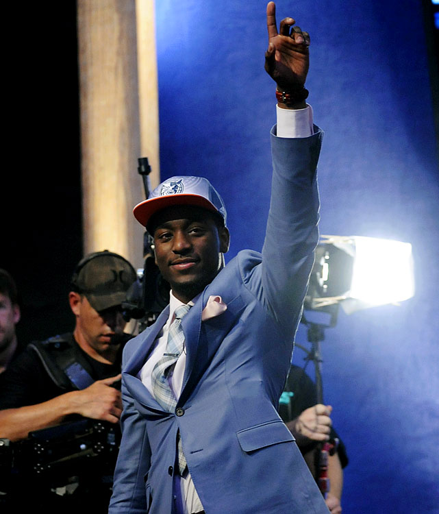 The Bobcats got the offensive punch they coveted when they selected UConn guard and NCAA Champion, Walker, with the No. 9 pick. Here's the cherry on top for Michael Jordan & Co.: He can defend, and distribute, and lead. While Charlotte already has a diminutive point guard in D.J. Augustin, it won't be long before the 6-1 Walker takes the reins.