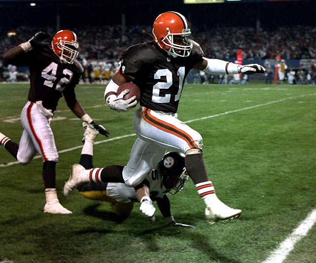 Metcalf was a running back, receiver and return specialist during his 13-year NFL career. The former first-round pick is the NFL's second all-time combined kickoff and punt return touchdown leader.