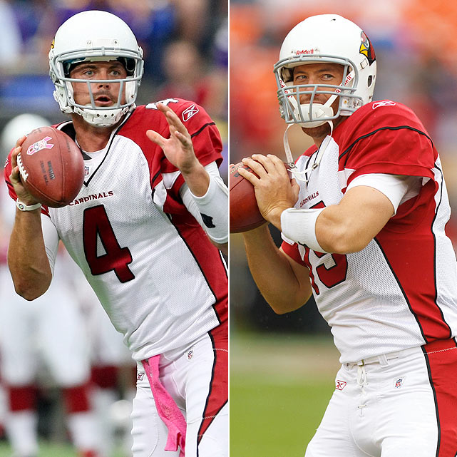 Injuries have taken a toll on the quarterback position in 2011. With numerous QBs in and out of the lineup, SI.com thought it prudent to chronicle the many men who have manned the position this season. ***  Kolb:   9 GS, 1,955 yards, 9 TDs, 8 INTs, 30 SCKs  Skelton:  5 GS, 1,345 yards, 8 TDs, 10 INTs, 16 SCKs