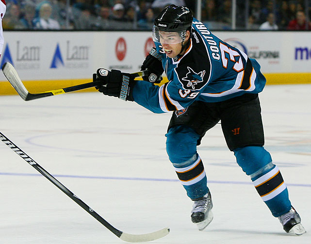 The 22-year-old center, San Jose's first-round pick (ninth overall) in 2007, finished the 2010-11 season with 32 goals and 56 points (both totals ranked second among rookies), earning a nomination for the Calder Trophy.  His exceptional performance continued in the playoffs where his seven goals and seven assists helped the Sharks reach the Western Conference Final. Signed to a two-year, $5.75 million extension in August, Couture continued to prove he belonged among San Jose's talented core players by scoring 15 goals, his 26 points in his first 33 games of the 2011-12 season good for second on the team with captain Patrick Marleau and behind only Joe Pavelski.