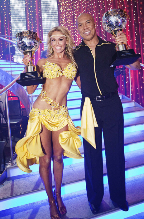 The celebrity dancing competition's two seasons in 2011 featured several athletes: Steelers wide receiver Hines Ward, former boxing champion Sugar Ray Leonard and ex-WWE star Chris Jericho in Season 12, and Lakers forward Metta World Peace and U.S. goalkeeper Hope Solo in Season 13. Ward became the sixth athlete to win the show, joining Emmitt Smith, Apolo Anton Ohno, Helio Castroneves, Kristi Yamaguchi and Shawn Johnson.