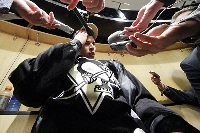 "The face of the NHL's ongoing concussion epidemic played only 10 games during the calendar year of 2011. When the Penguins put him back on injured reserve on Dec. 17, there was no timetable for his return and his teammates began openly contemplating the unthinkable. ""I'd be lying if I said I didn't think about it,"" defenseman Matt Niskanen told the  Pittsburgh Tribune-Review . ""There is always that scare, guys out there ... who probably aren't coming back. It's always a possibility."" While Crosby recovers, he'll be conspicuous by his absence. When -- or if -- he returns, his every shift will be cause to hold your breath as the still-young career of hockey's best player is now at the mercy of a most capricious affliction."