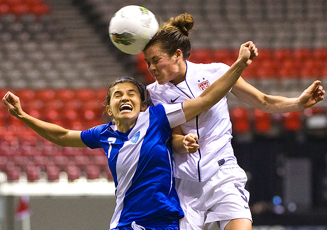 Kelley O'Hara made her second career start against Guatemala, and contributed three assists.