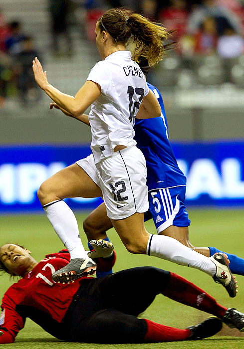 Lauren Cheney scored one unassisted goal against Guatemala.