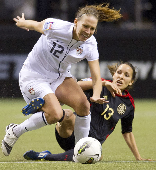 Lauren Cheney added her team-leading sixth assist in the win over Mexico.