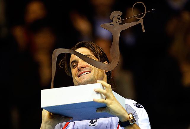 def. Alexandr Dolgopolov 6-1, 3-6, 6-4 ATP 500, Hard, €1,424,850 Valencia, Spain