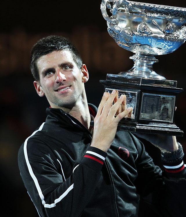def. Rafael Nadal 5-7, 6-4, 6-2, 6-7(5), 7-5 Grand Slam, Hard, $11,806,550 Melbourne, Australia