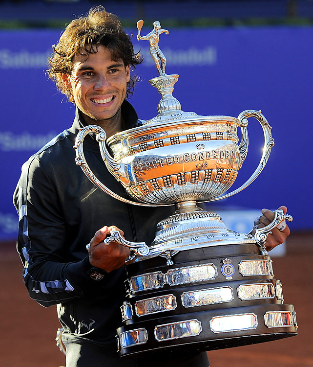def. David Ferrer 7-6 (1), 7-5 ATP World Tour 500, Clay, €1,627,500  Barcelona, Spain