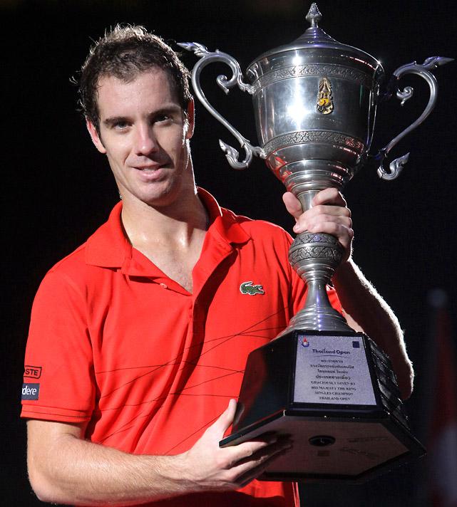 def. Gilles Simon 6-2, 6-1 ATP 250, Hard, $850,000 Bangkok, Thailand