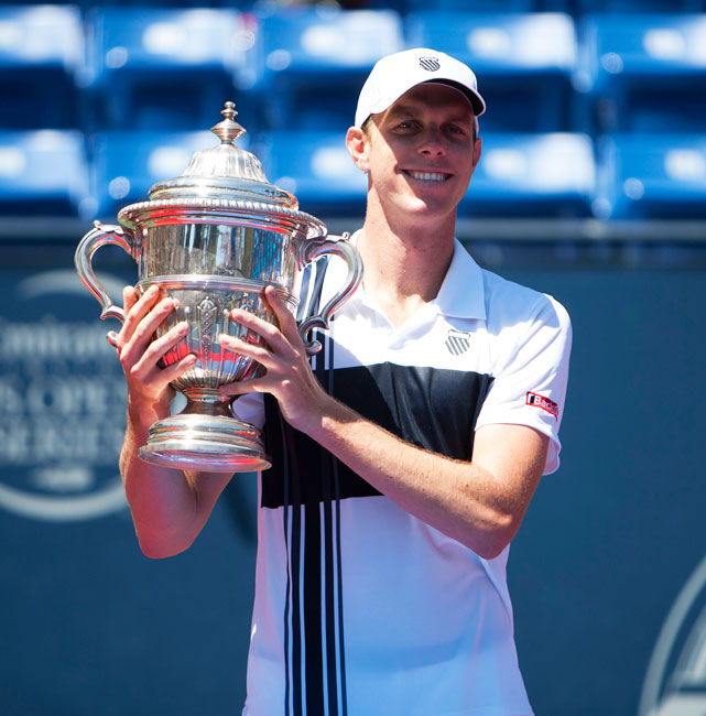 def. Ricardas Berankis 6-0, 6-2 ATP 250, Hard, $557,550 Los Angeles