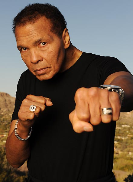 Muhammad Ali turned 70 today (Jan. 17) and recently posed for SI at his Las Vegas home.