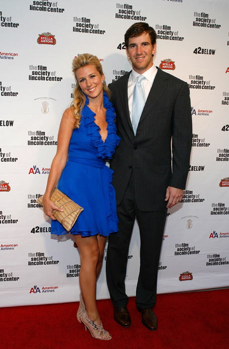 Manning and wife Abby McGrew attend a Gala Tribute at the Lincoln Center in New York. Bet you can't do that in Indy, Peyton.