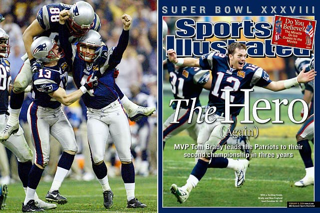 New England returned to prominence with another Super Bowl championship in the 2003 season. Vinatieri was the hero again, making a 41-yard field goal with four seconds left to give the Patriots a 32-29 win over the Panthers.