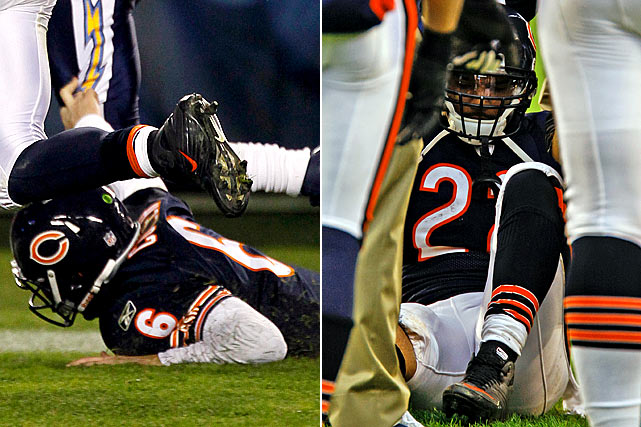 Chicago lost two of its offensive stars for the stretch run of the season. Matt Forte went down with a knee injury in Week 13 and Jay Cutler underwent finger surgery after a Week 11 incident.