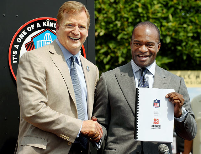 Trepidation that the NFL season would start late -- or not at all -- ended around the time training camps were scheduled to begin. On July 25, the NFL players approved a deal tentatively reached days earlier, putting an end to the four-and-a-half month work stoppage, the longest in league history. The Aug. 7 Hall of Fame game between the Bears and Rams was the only casualty as the rest of the preseason and regular season went off as planned.