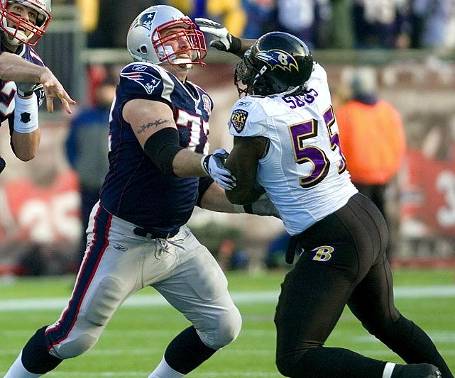 This should be a fantastic matchup. It will be a very long day for Brady and New England if Light -- one of the best left tackles in the game -- can't keep Suggs -- one of the best pass rushers in the game and a potential Defensive Player of the Year winner -- out of the backfield.