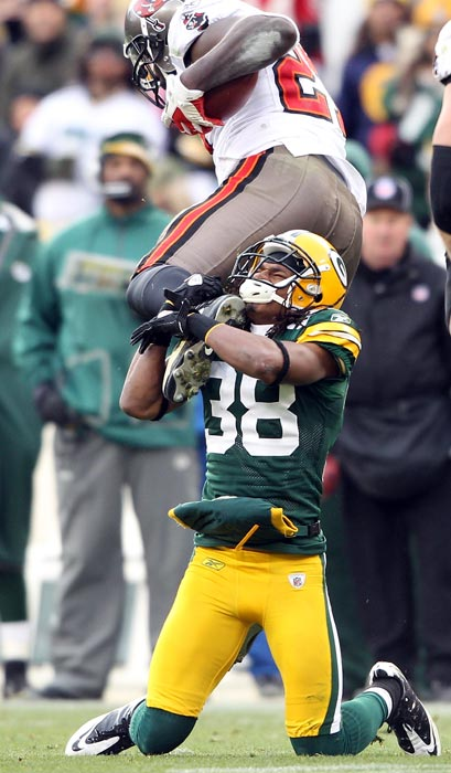 Williams didn't have his best year in 2011, but the fifth-year corner could very well bust out in the postseason. Williams was great in last year's playoffs, making three postseason interceptions to help the Packers win the Super Bowl. He'll be looking to recapture some of that magic when Green Bay kicks off their divisional round matchup next Sunday.