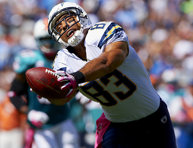 Though the Chargers were down, Jackson had one of his typically solid seasons in 2011, catching 60 balls for 1,106 yards and tying a career high with 11 touchdowns.