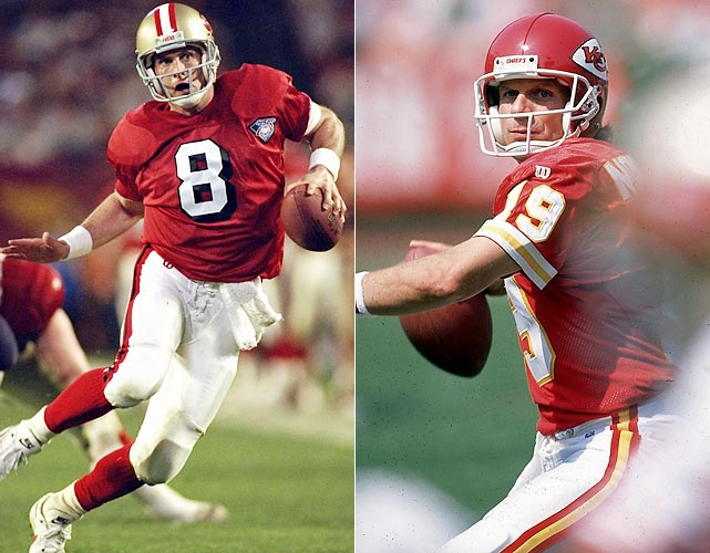 San Francisco had a full-fledged quarterback controversy on its hands in the 1993 offseason, with the question of who would be the starter in the upcoming season. The 49ers eventually chose Young and granted Montana's trade request, sending the then 36-year-old to Kansas City.