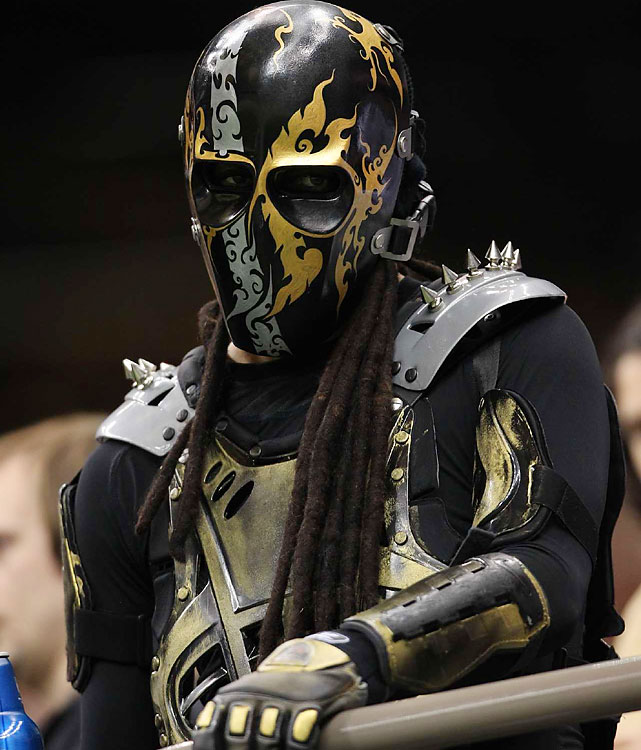 The New Orleans faithful saw their team win a fifth straight playoff game at the Superdome.