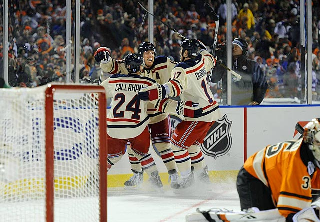 Richards wasted no time scoring the winner, knocking in a rebound 3:20 later to put the Rangers up 3-2.