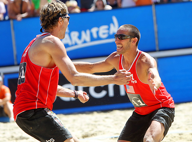 Fuerbringer and Lucena, who partnered in 2010, are in eighth place in Olympic qualifying standings with 3,700 points, which is a mere 60 points ahead of Gibb and Rosenthal.