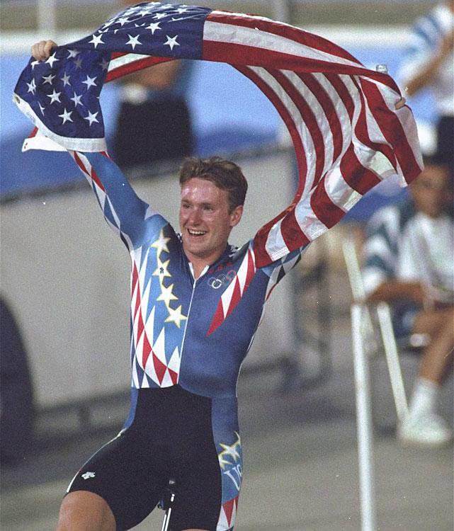 Bronze - Men's Track Time Trial.