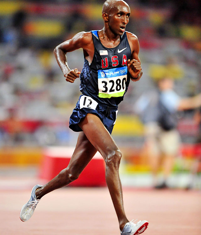 Abdirahman, born in Somalia, is somewhat of an unknown. He's the only man in the field other than Hall or Keflezighi to run under 2:10, but he's only done it once. He's also a proven three-time Olympian, but not at 26.2 miles. He made those teams in the 10,000.